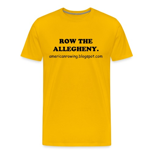 Row the Burgh T.  - Men's Premium T-Shirt
