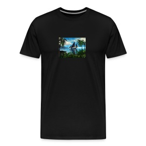Bermuda Breeze - Men's Premium T-Shirt