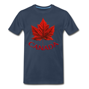 Canada Souvenir Men's XXXL T-shirt Canadian Maple Leaf XXXL T-Shirts - Men's Premium T-Shirt