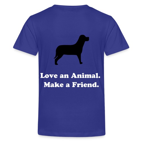 Kids Help a Horse Royal Blue T-Shirt - Kids' Premium T-Shirt