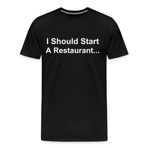 (Front) I Should Start... (Back) Cause I'm... - Men's Premium T-Shirt
