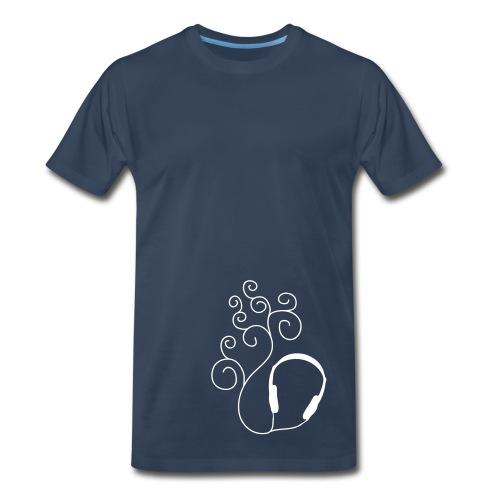 Curled Sound - Men's Premium T-Shirt