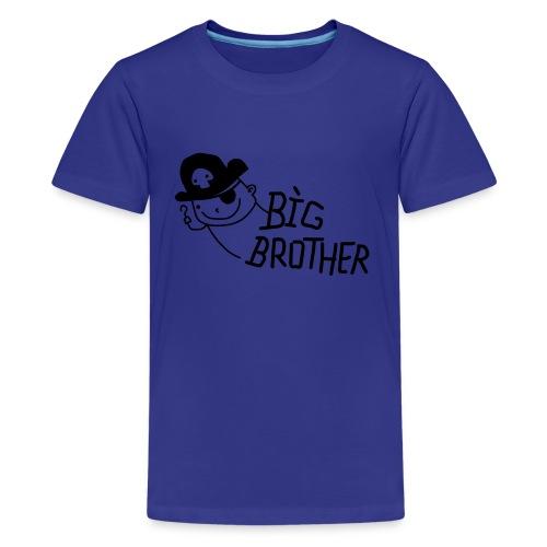 big brother's tee - Kids' Premium T-Shirt