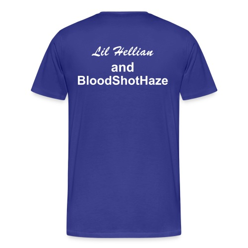 Our Lives bloodshothaze lil hellian - Men's Premium T-Shirt