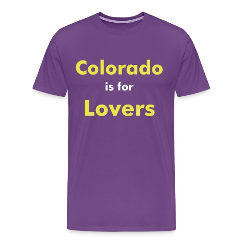 Colorado is for Lovers: Black Mamba - Men's Premium T-Shirt