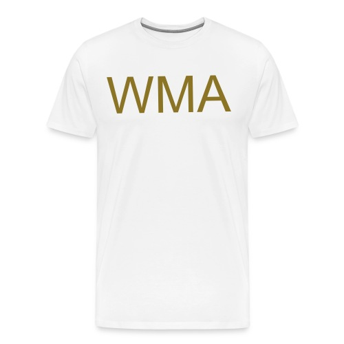 WMA metallic gold - Men's Premium T-Shirt