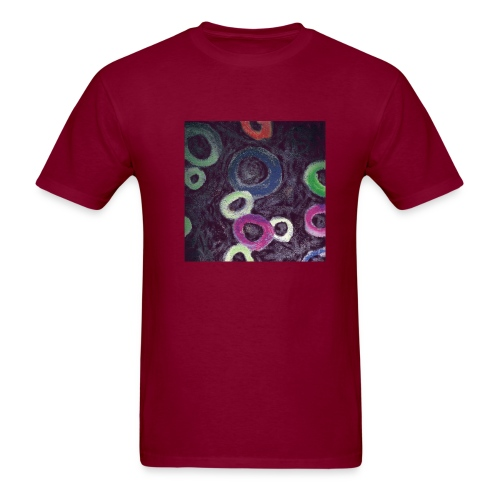 Burgundy Frucht Schleifen Men - Men's T-Shirt