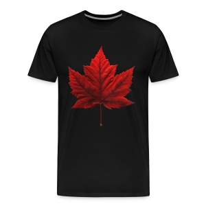 Canada Maple Leaf Souvenir T-shirt Mens Souvenir Tee - Men's Premium T-Shirt