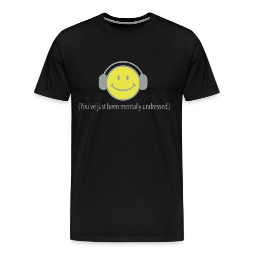 Smiley DJ T-shirt - Men's Premium T-Shirt