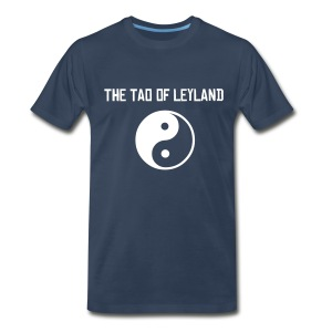 The Tao of Leyland -- Blue - Men's Premium T-Shirt