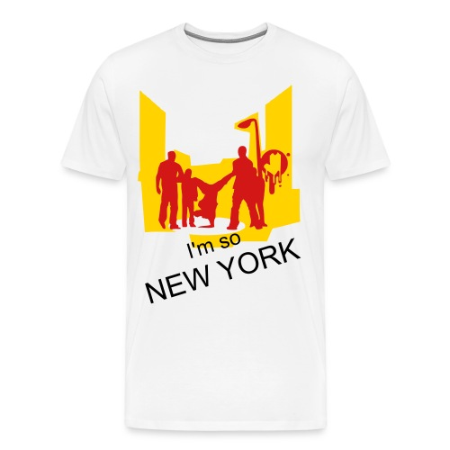 I'm so New York - Men's Premium T-Shirt