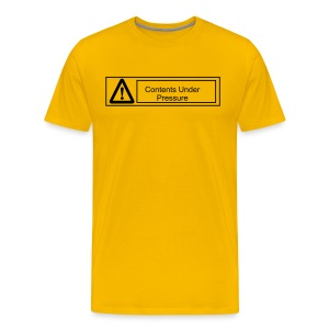 Contents Under Pressure - Men's Premium T-Shirt