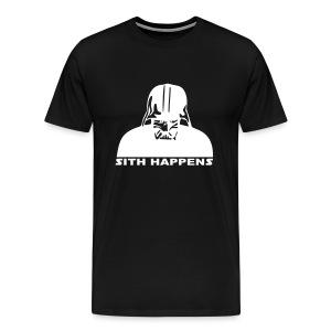 Sith Happens. - Men's Premium T-Shirt