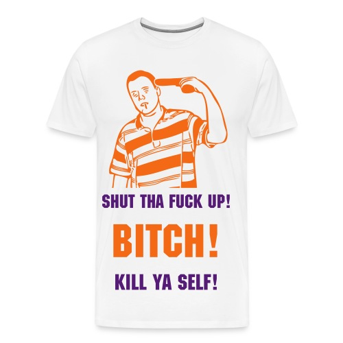 Killa Ya Self Tee - Men's Premium T-Shirt