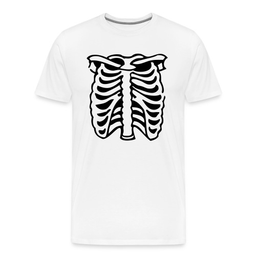 X ray vision... I can see through you! - Men's Premium T-Shirt