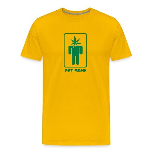 Pot Head - Men's Premium T-Shirt