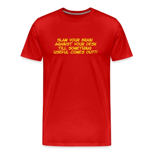 Slam Your Head - Men's Premium T-Shirt