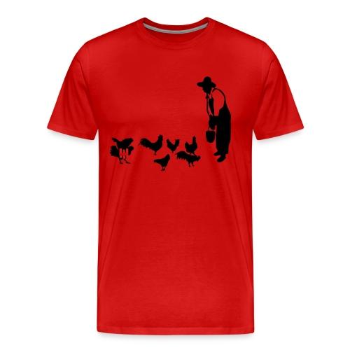 Chicken Bomber - Men's Premium T-Shirt