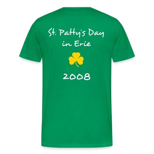 St. Patty's Day in Erie Relaxed Fit T-Shirt - Men's Premium T-Shirt
