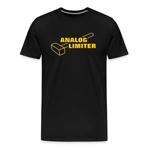 Analog Limiter - Men's Premium T-Shirt