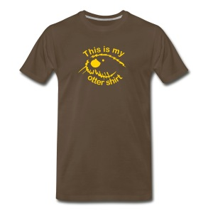 This Is My Otter Shirt - Men's Premium T-Shirt