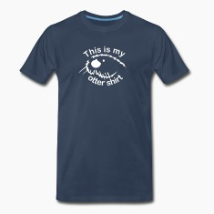 Navy This Is My Otter Shirt Men
