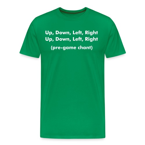 Gamers Chant - Men's Premium T-Shirt