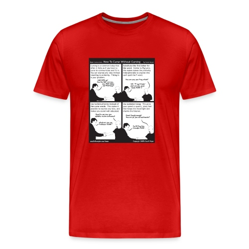 How to Curse Without Cursing - Men's Premium T-Shirt