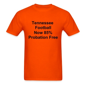 Tennessee Football (Orange w/black) - Men's T-Shirt