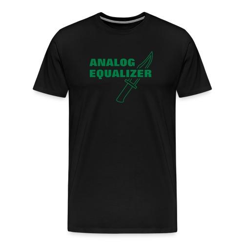 Analog Equalizer - Men's Premium T-Shirt