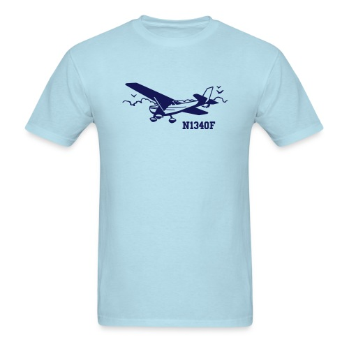 Rather be Flying Custom N-number - Men's T-Shirt