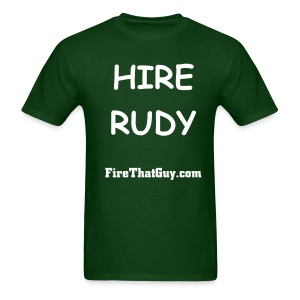 HIRE RUDY - Men's T-Shirt