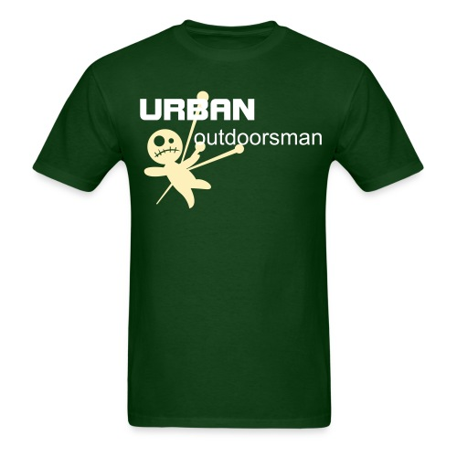 URBAN outdoorsman green tee - Men's T-Shirt
