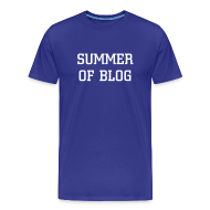 T-Shirts ~ Men's Premium T-Shirt ~ Summer of Blog