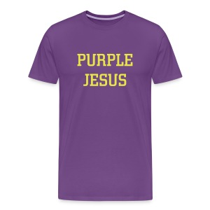 Purple Jesus - Men's Premium T-Shirt