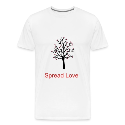 Spread Love - Men's Premium T-Shirt