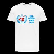 T-Shirts ~ Men's Premium T-Shirt ~ UN: Visualize World Peace