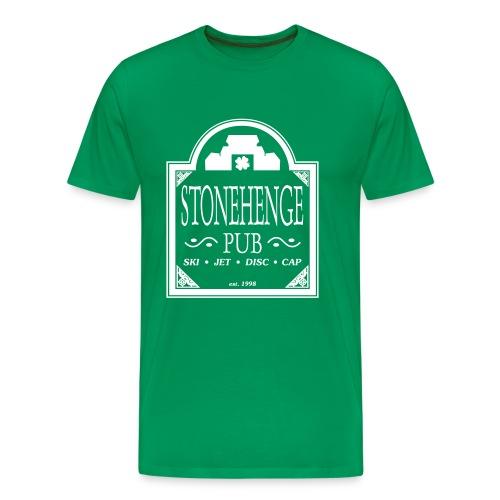 Stonehenge Pub (Heavies Only) - Men's Premium T-Shirt