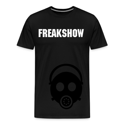 Freakshow Revolution  Gas Mask - Men's Premium T-Shirt