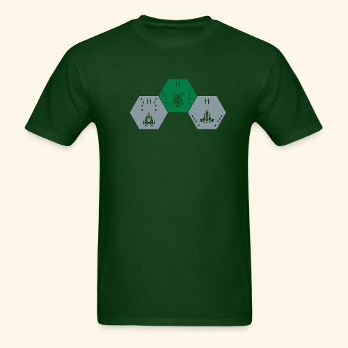 DDP-Ships, silverprint - Men's T-Shirt