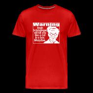 T-Shirts ~ Men's Premium T-Shirt ~ Schrodinger shirts for menettes.