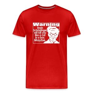 Schrodinger shirts for menettes. - Men's Premium T-Shirt