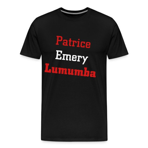 Lumumba 001 - Men's Premium T-Shirt