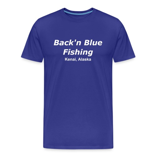 Back'n Blue Fishing - Men's Premium T-Shirt