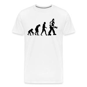 Evolution - T-shirt premium pour hommes