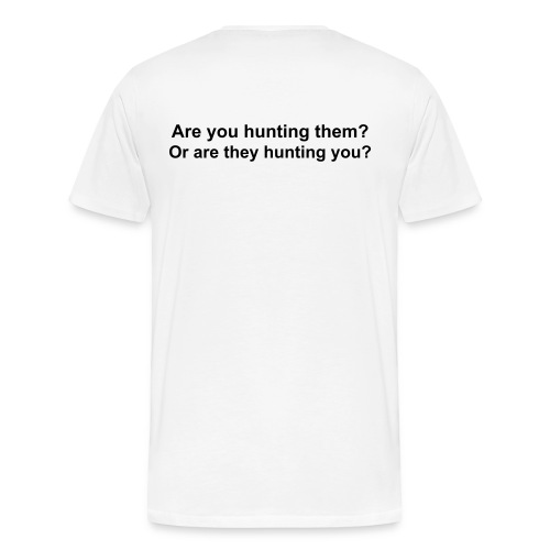 Cougars... Are you hunting them? Or are they hunting you? - Men's Premium T-Shirt