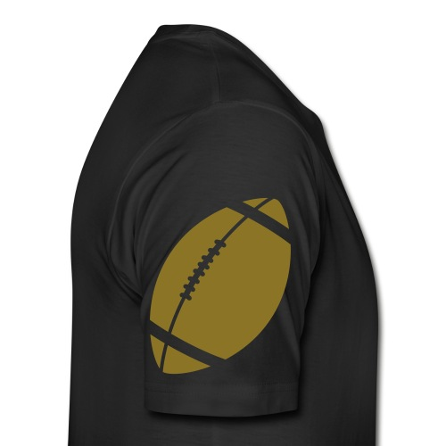 black football t-shirt - Men's Premium T-Shirt