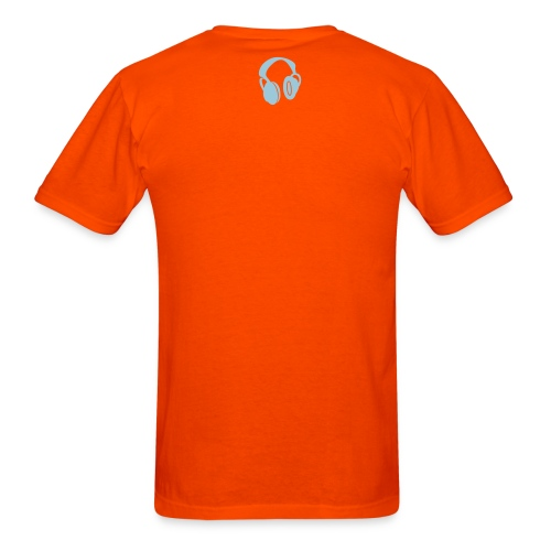 DAN DESIGN - ELECTRO BLOB ORANGE - Men's T-Shirt