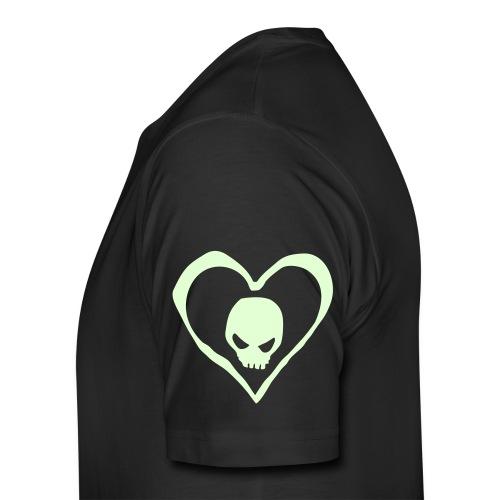 Men's Premium T-Shirt - glow in the dark