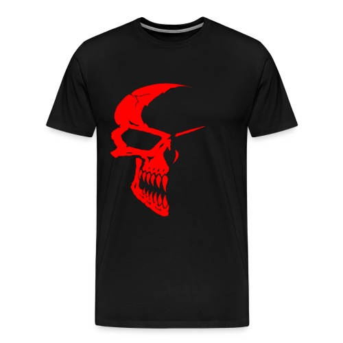 Red Skull Tee - Men's Premium T-Shirt
